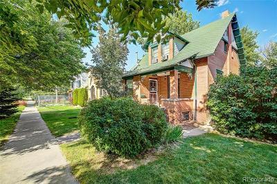 Denver Residential Lots & Land Active: 2336 Irving Street