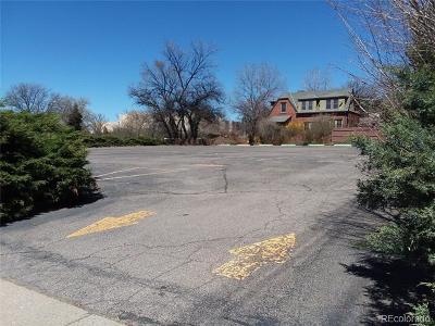Denver Residential Lots & Land Active: 1800 East Colorado Boulevard