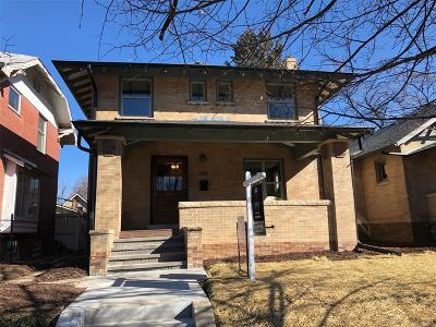 Denver Single Family Home Active: 1356 Cook Street