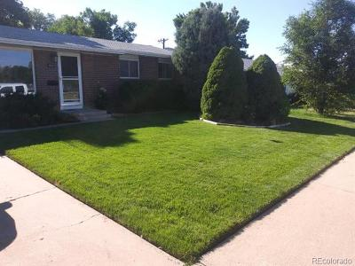 Greeley Single Family Home Active: 2833 15th Avenue Court