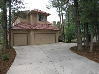 Castle Rock Single Family Home Active: 454 Silbrico Way