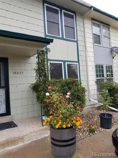Aurora Condo/Townhouse Active: 16637 East 13th Avenue