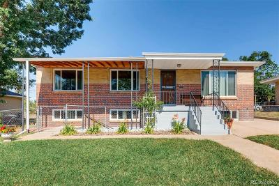 Denver Single Family Home Active: 470 South Bryant Street