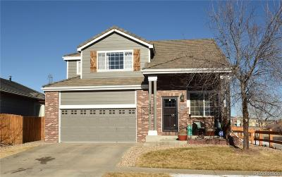 Commerce City Single Family Home Under Contract: 14289 East 101st Place