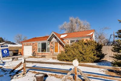 Northglenn Single Family Home Under Contract: 1343 East 108th Avenue