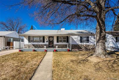 Denver CO Single Family Home Active: $480,000