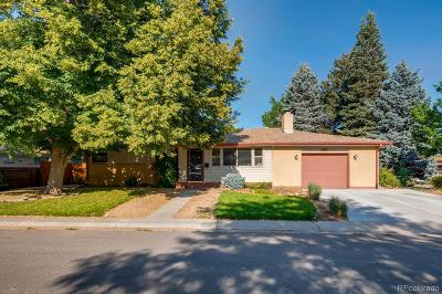 Arvada Single Family Home Active: 6176 Parfet Court