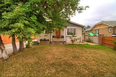 Denver Single Family Home Under Contract: 4900 West Kentucky Avenue