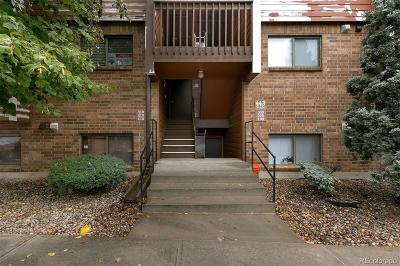 Lakewood Condo/Townhouse Under Contract: 443 Wright Street #210