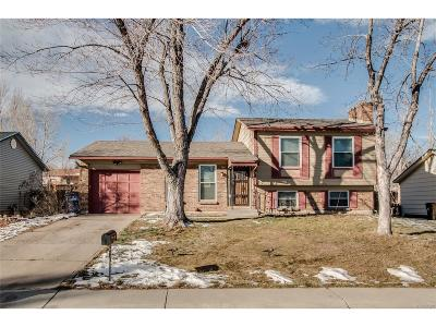 Broomfield Single Family Home Under Contract: 1767 Dexter Street
