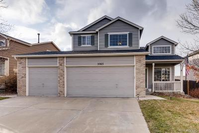 Centennial Single Family Home Under Contract: 5565 South Winnipeg Street