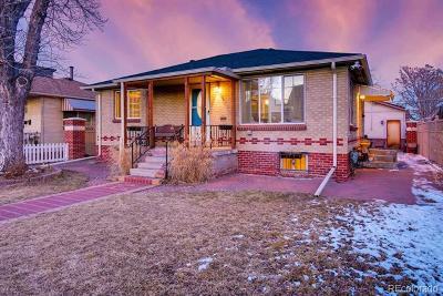 Denver Single Family Home Active: 4320 Quivas Street