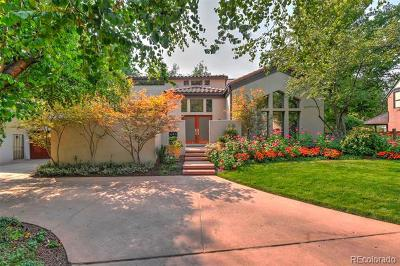 Denver Single Family Home Active: 461 Race Street
