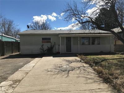 Dacono Single Family Home Under Contract: 816 Glen Dale Street