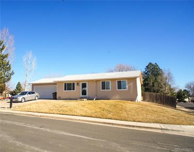 Broomfield Single Family Home Under Contract: 13400 West 135th Place