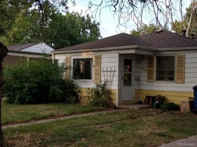 Arvada Single Family Home Active: 5206 Dover Street