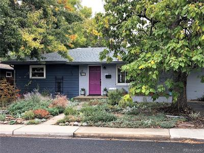 Longmont Single Family Home Under Contract: 940 Grant Street