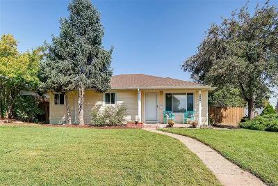 Wheat Ridge Single Family Home Under Contract: 2600 Gray Street