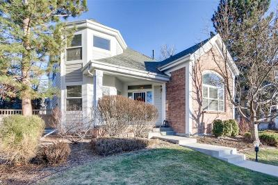 Denver Single Family Home Active: 1011 South Valentia Street #23