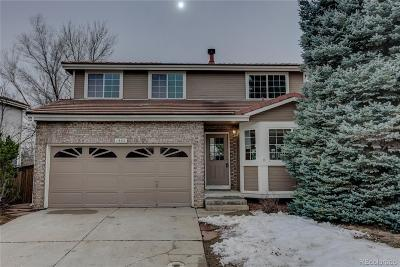 Highlands Ranch Single Family Home Under Contract: 1552 Spring Water Place