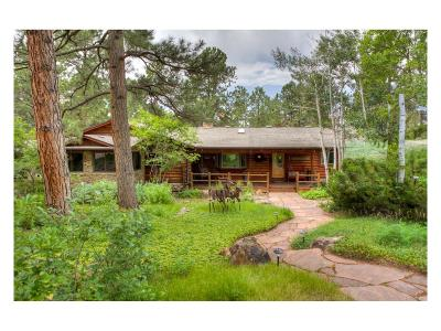 Franktown Single Family Home Under Contract: 1400 State Highway 83