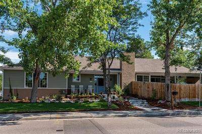 Denver Single Family Home Active: 9205 East Mexico Avenue
