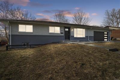 Denver Single Family Home Active: 2865 South Zurich Court