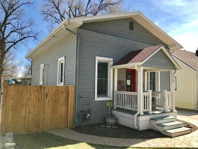 Boulder County Single Family Home Active: 816 Gay Street