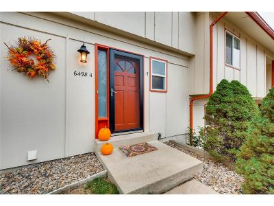 Arvada Condo/Townhouse Under Contract: 6498 West 80th Drive #A