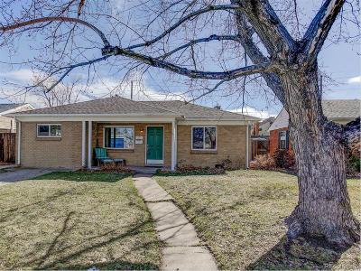 Denver Single Family Home Under Contract: 1260 South Harrison Street