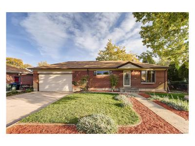 Northglenn Single Family Home Under Contract: 10790 Larry Drive