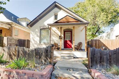 Single Family Home Under Contract: 3743 Tejon Street