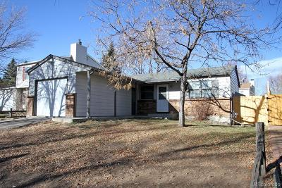 Aurora CO Single Family Home Active: $324,900