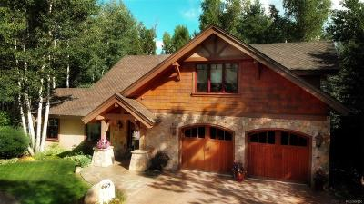 Steamboat Springs Single Family Home Under Contract: 665 Creel Lane