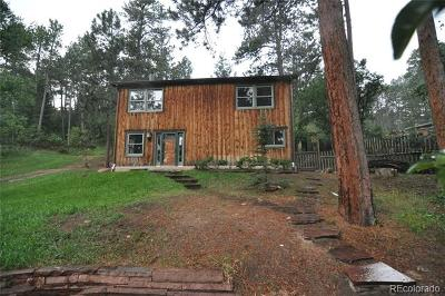Palmer Lake Single Family Home Active: 171 Shady Lane