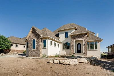 Castle Pines Single Family Home Under Contract: 1281 Buffalo Ridge Road