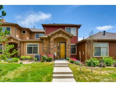 Highlands Ranch Condo/Townhouse Active: 8614 Gold Peak Drive #F