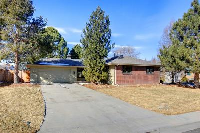 Denver Single Family Home Active: 3101 South Leyden Street
