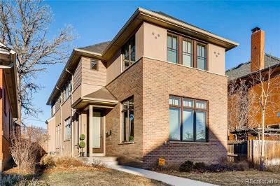 Denver Single Family Home Active: 811 South Pearl Street