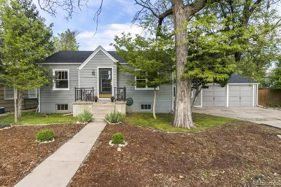 Greeley Single Family Home Active: 1536 14th Avenue