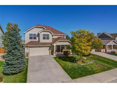 Castle Rock Single Family Home Under Contract: 5567 East Monument Drive
