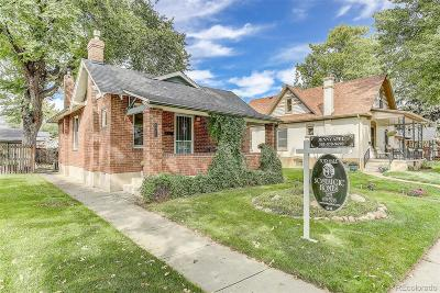 Denver Single Family Home Active: 3945 Meade Street