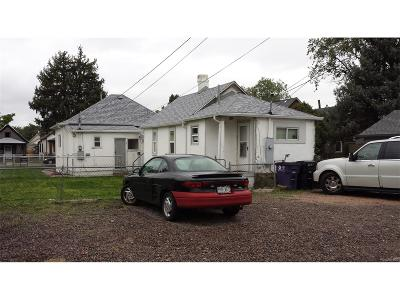 Denver Multi Family Home Under Contract: 4670 Pennsylvania Street