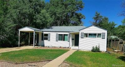 Denver Single Family Home Active: 2035 South Hooker Circle