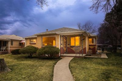 Denver Single Family Home Active: 3550 Holly Street
