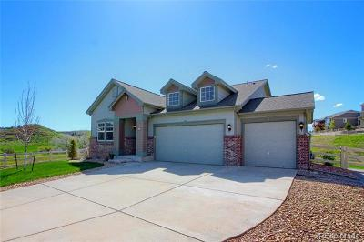 Castle Rock Single Family Home Active: 5421 Clearbrooke Court