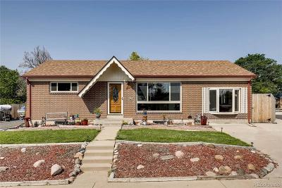 Northglenn Single Family Home Active: 11461 High Street