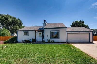Thornton Single Family Home Active: 10954 Ash Circle