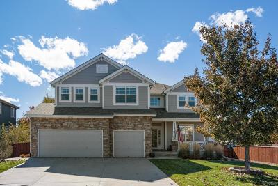 Castle Rock Single Family Home Under Contract: 2102 Fire Opal Court