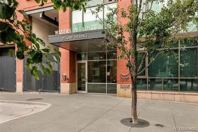 Denver Condo/Townhouse Active: 1401 Wewatta Street #602